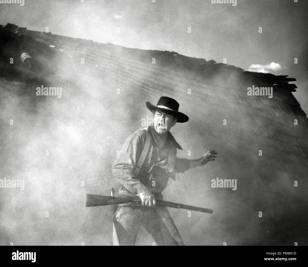 John Wayne, 'The Searchers', 1956 Warner Brothers   File Reference # 32557_391THA - Stock Image