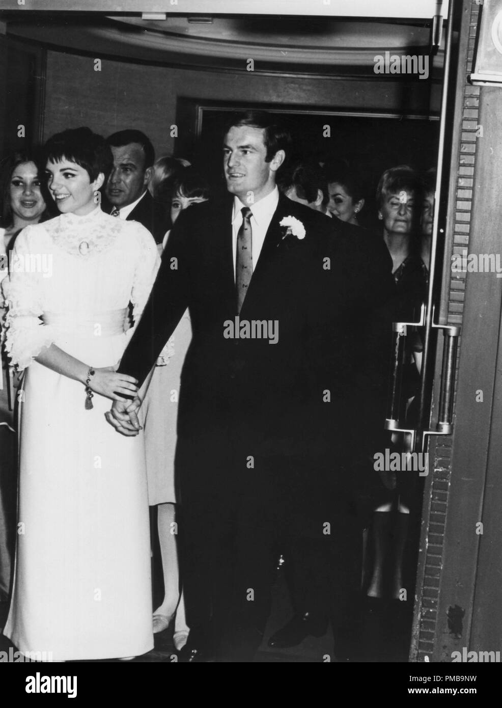 Wedding March 3.Liza Minnelli And Peter Allen At Their Wedding March 3