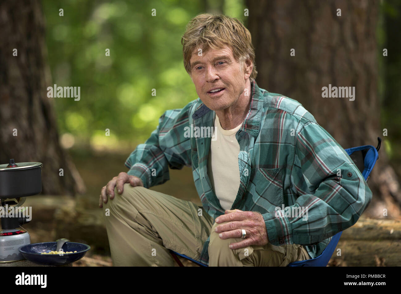 Robert Redford Stars As Bill Bryson Hiking Along The Appalachian Trail In Broad Green Pictures Upcoming Release A Walk In The Woods Stock Photo Alamy