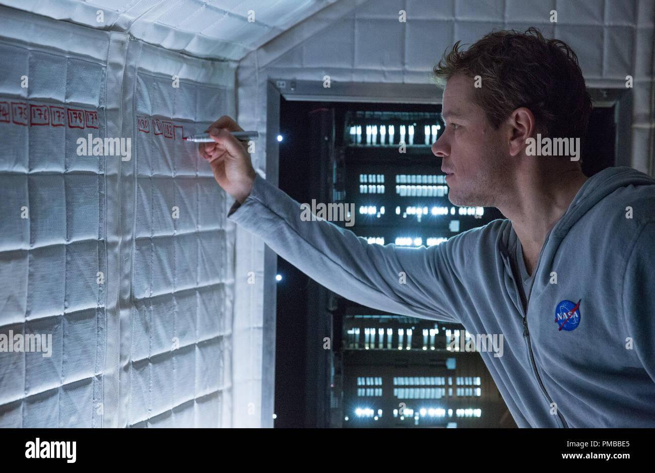 Matt Damon Portrays An Astronaut Who Must Draw Upon His Ingenuity To