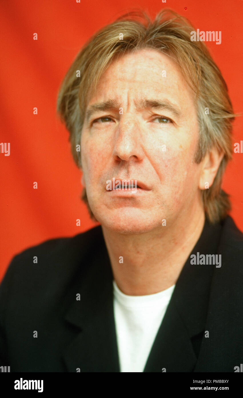 Alan Rickman, circa 1998 © JRC /The Hollywood Archive - All Rights Reserved  File Reference # 32914_432JRC - Stock Image