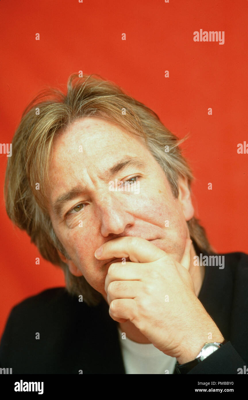 Alan Rickman, circa 1998 © JRC /The Hollywood Archive - All Rights Reserved  File Reference # 32914_433JRC - Stock Image