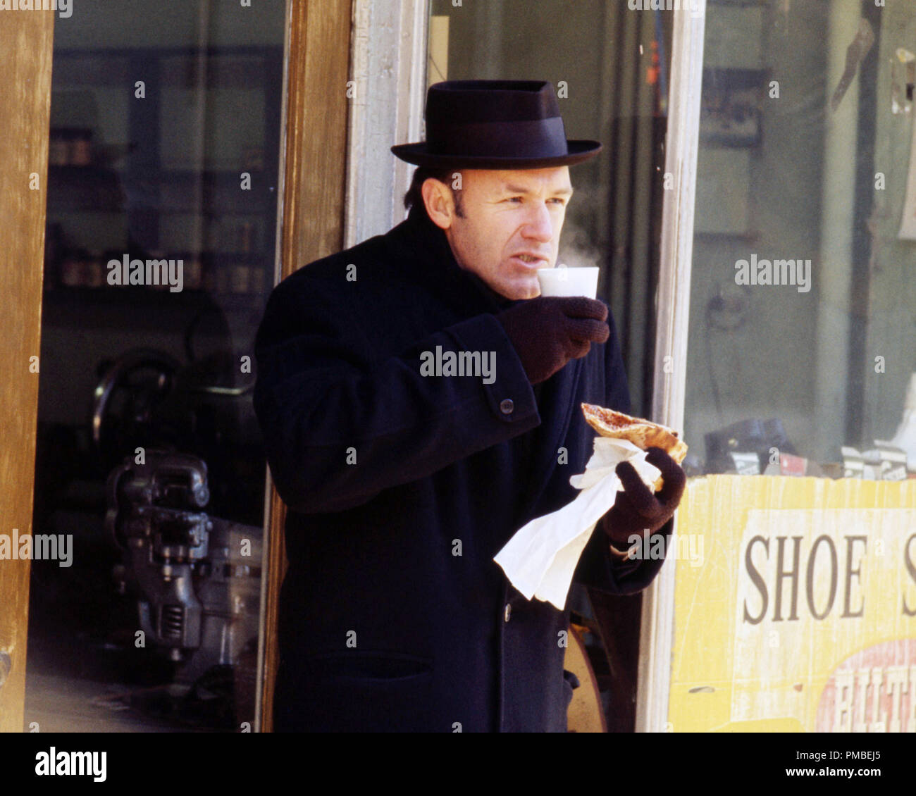 Gene Hackman, 'The French Connection' 1971 20th Century Fox  File Reference # 33371_740THA - Stock Image