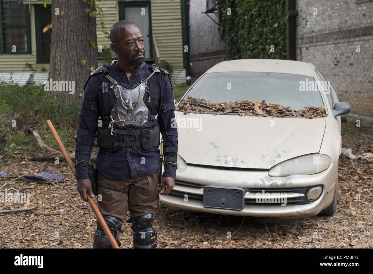 Lennie James, 'The Walking Dead' Season 7 (2016-2017) AMC - Stock Image