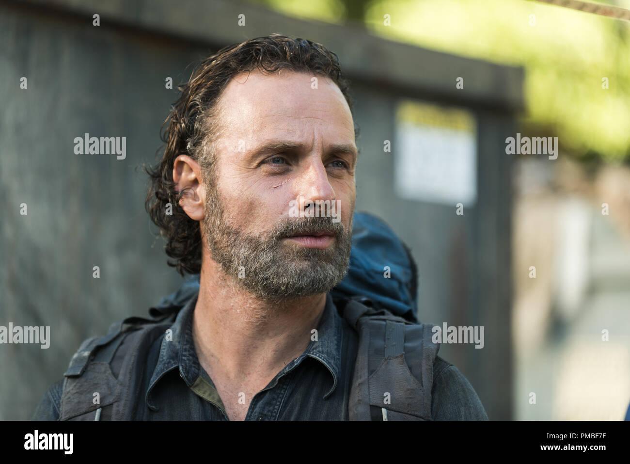 Andrew Lincoln, 'The Walking Dead' Season 7 (2016-2017) AMC - Stock Image