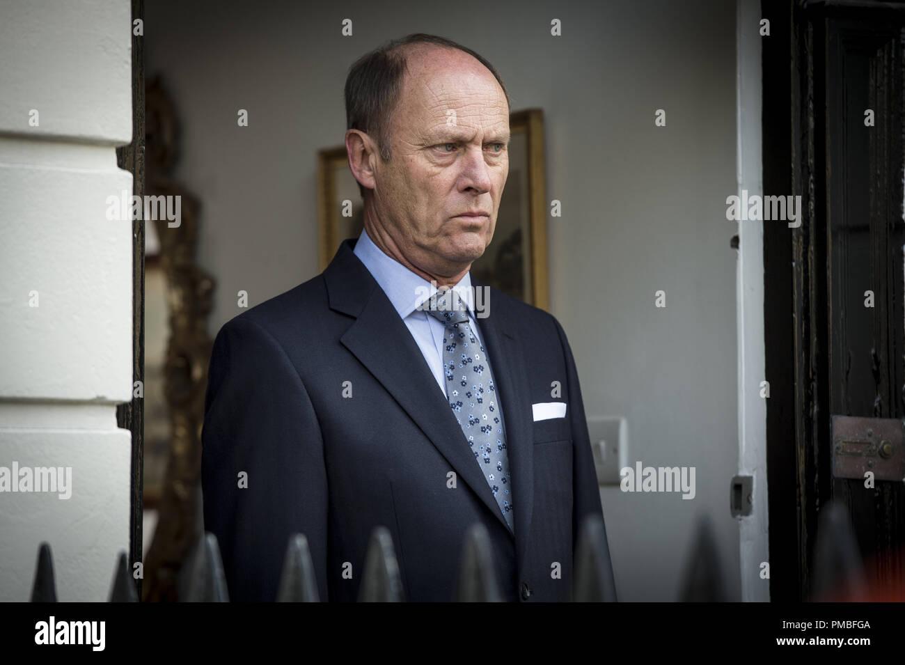 Patrick Malahide, 'Luther' Season 4 (2015) BBC Worldwide - Stock Image