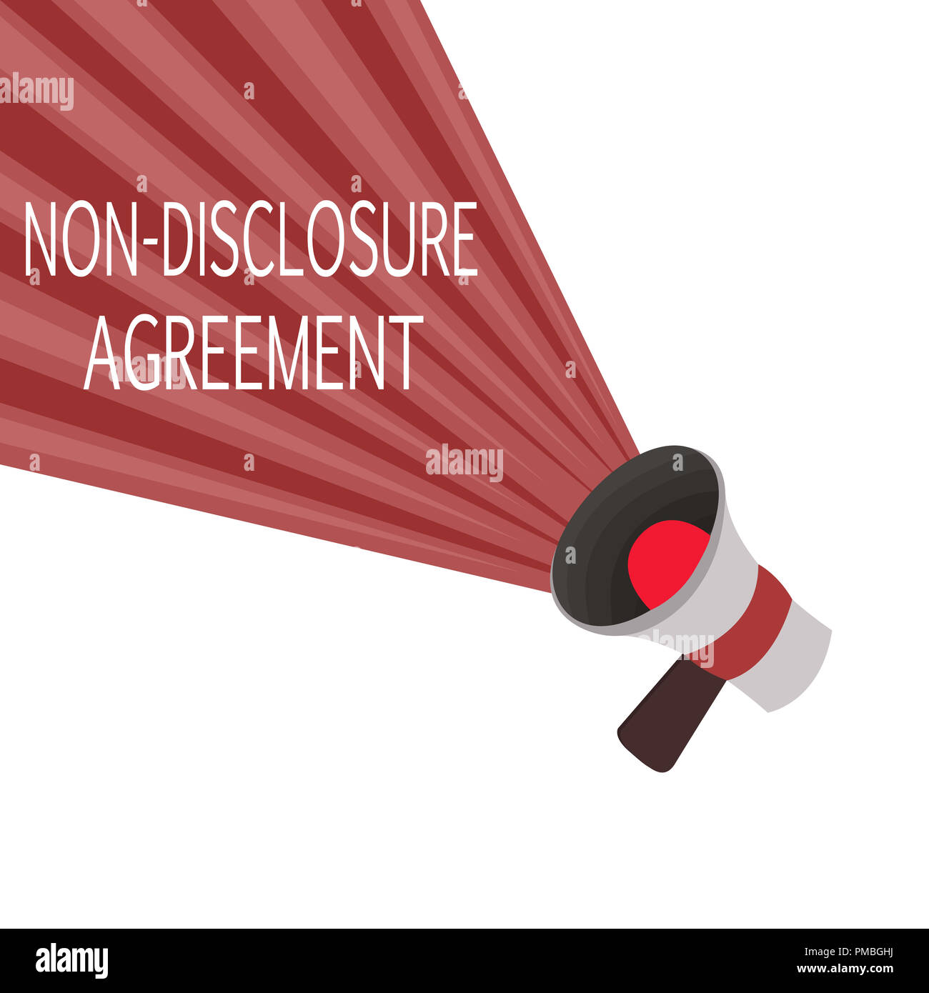 Word Writing Text Non Disclosure Agreement Business Concept For