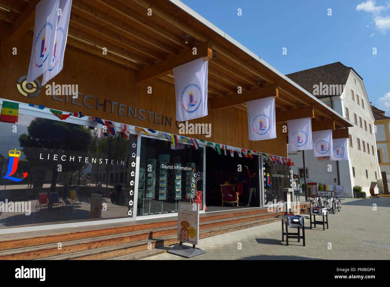 300 years Principality Liechtenstein (2019), Vaduz FL Stock Photo