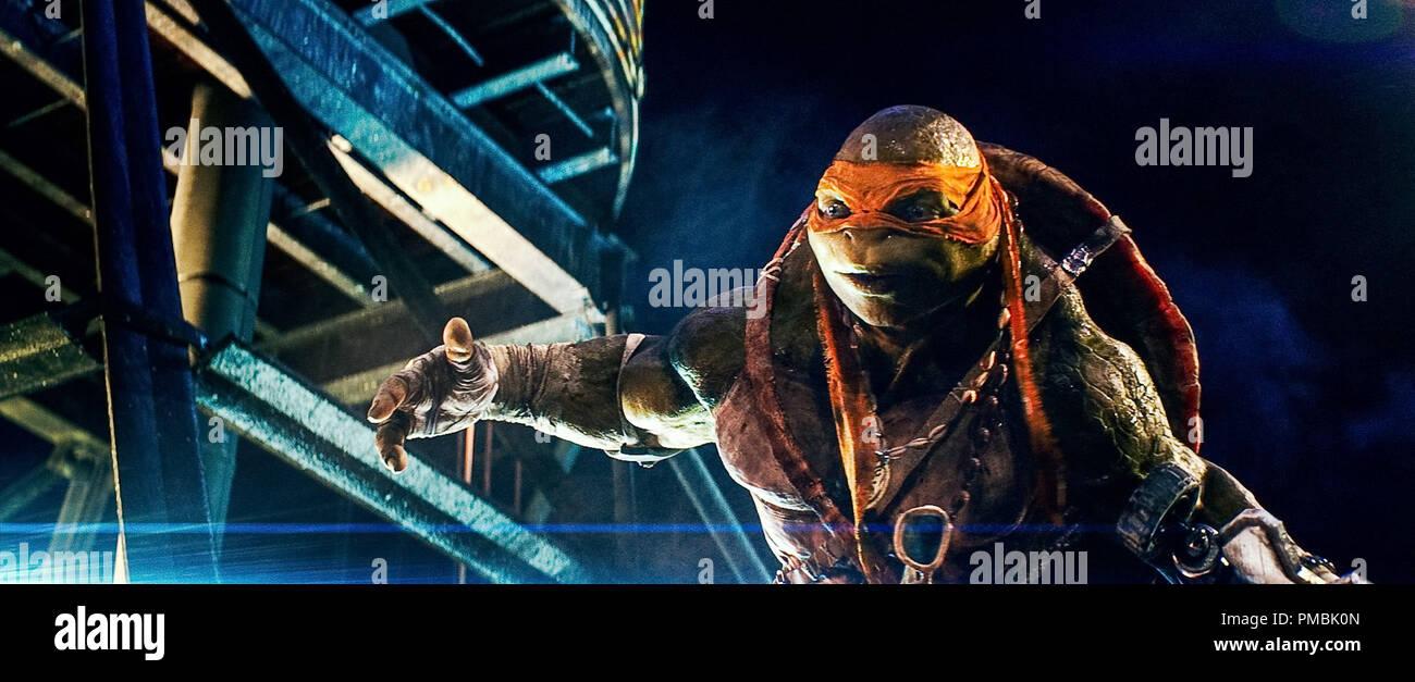 Michelangelo Teenage Mutant Ninja Turtles High Resolution Stock Photography And Images Alamy