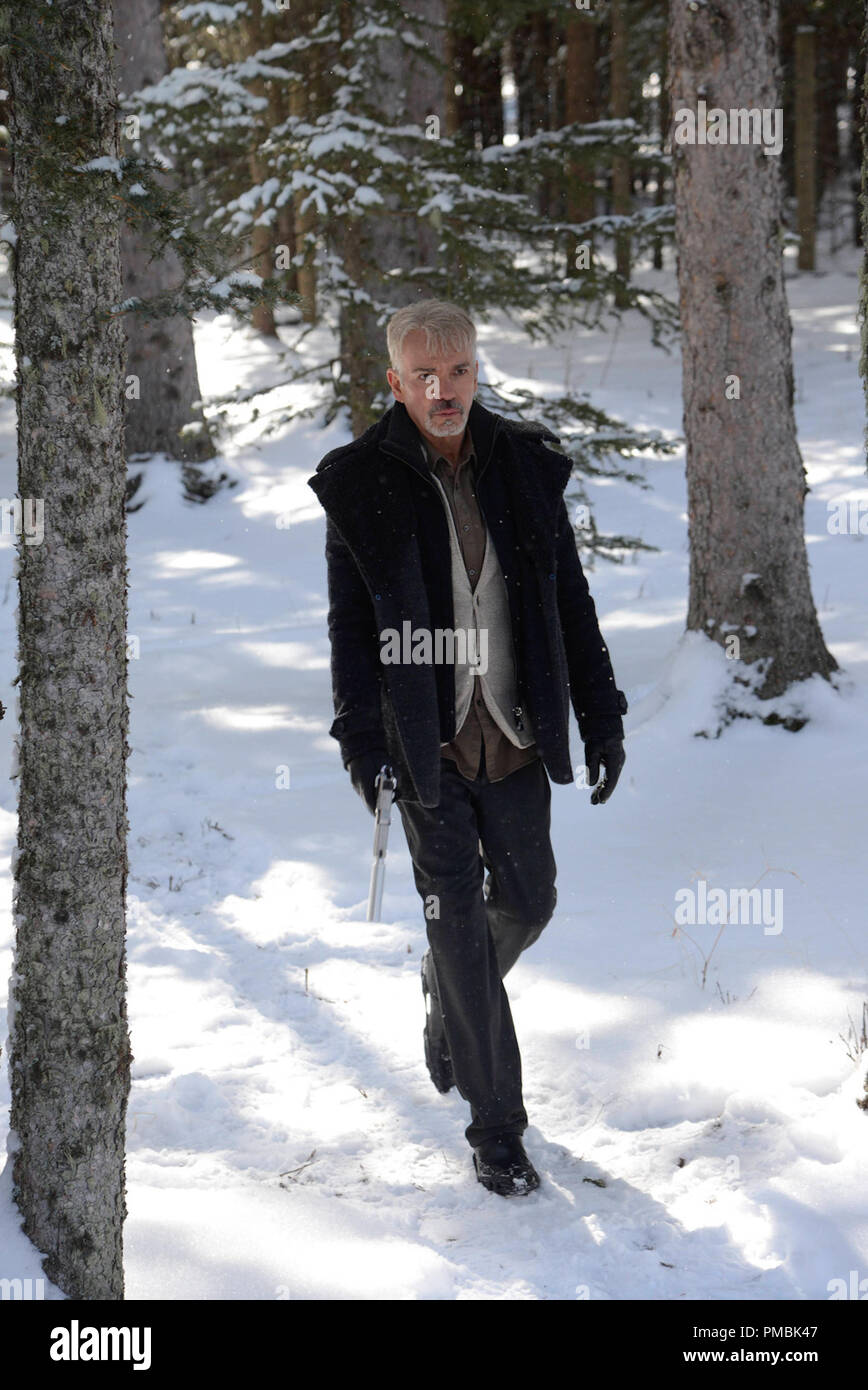 FARGO 'Morton's Fork' -- Episode 110 -- Airs Tuesday, June 17, 10:00 pm e/p) -- Pictured: Billy Bob Thornton as Lorne Malvo -- CR: Chris Large/FX - Stock Image