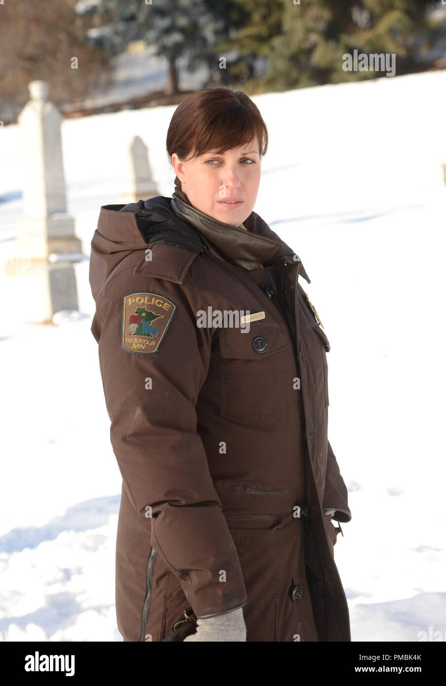 FARGO 'The Rooster Prince' -- Episode 102 -- Airs Tuesday, April 22, 10:00 pm e/p) -- Pictured: Allison Tolman as Molly Solverson -- CR: Chris Large/FX - Stock Image
