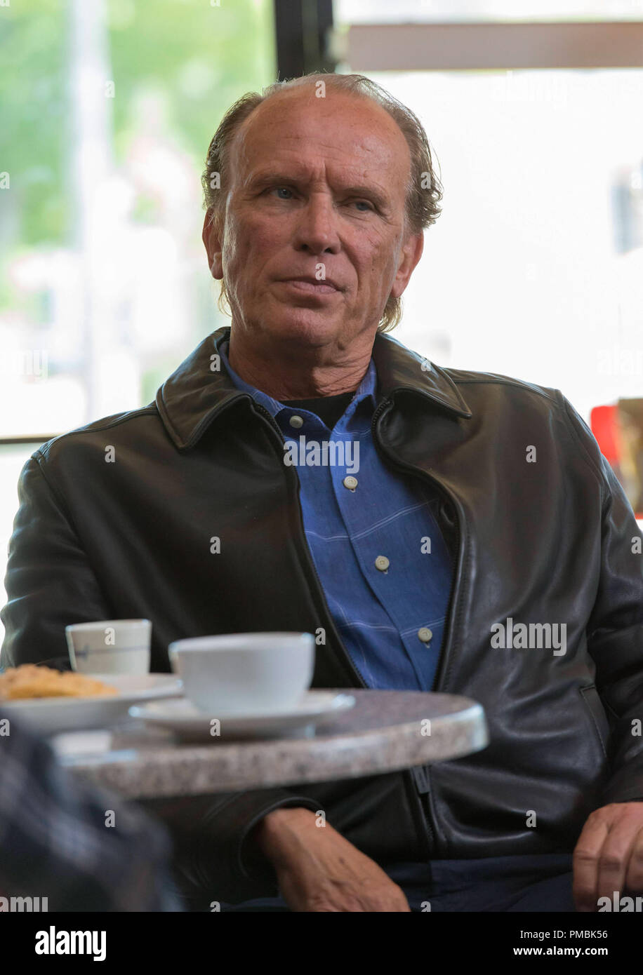 SONS OF ANARCHY Poenitentia -- Episode 603 -- Airs Tuesday, September 24, 10:00 pm e/p) -- Pictured:  Peter Weller as Charles Barosky -- CR: Prashant Gupta/FX - Stock Image