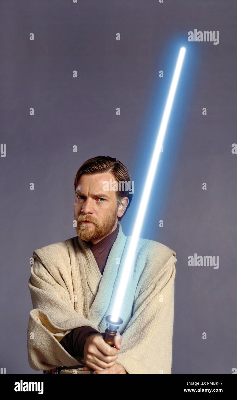 Ewan Mcgregor Plays The Stalwart Obi Wan Kenobi In Star Wars Episode Iii Revenge Of The Sith Tm C 2005 Lucasfilm Ltd All Rights Reserved Stock Photo Alamy