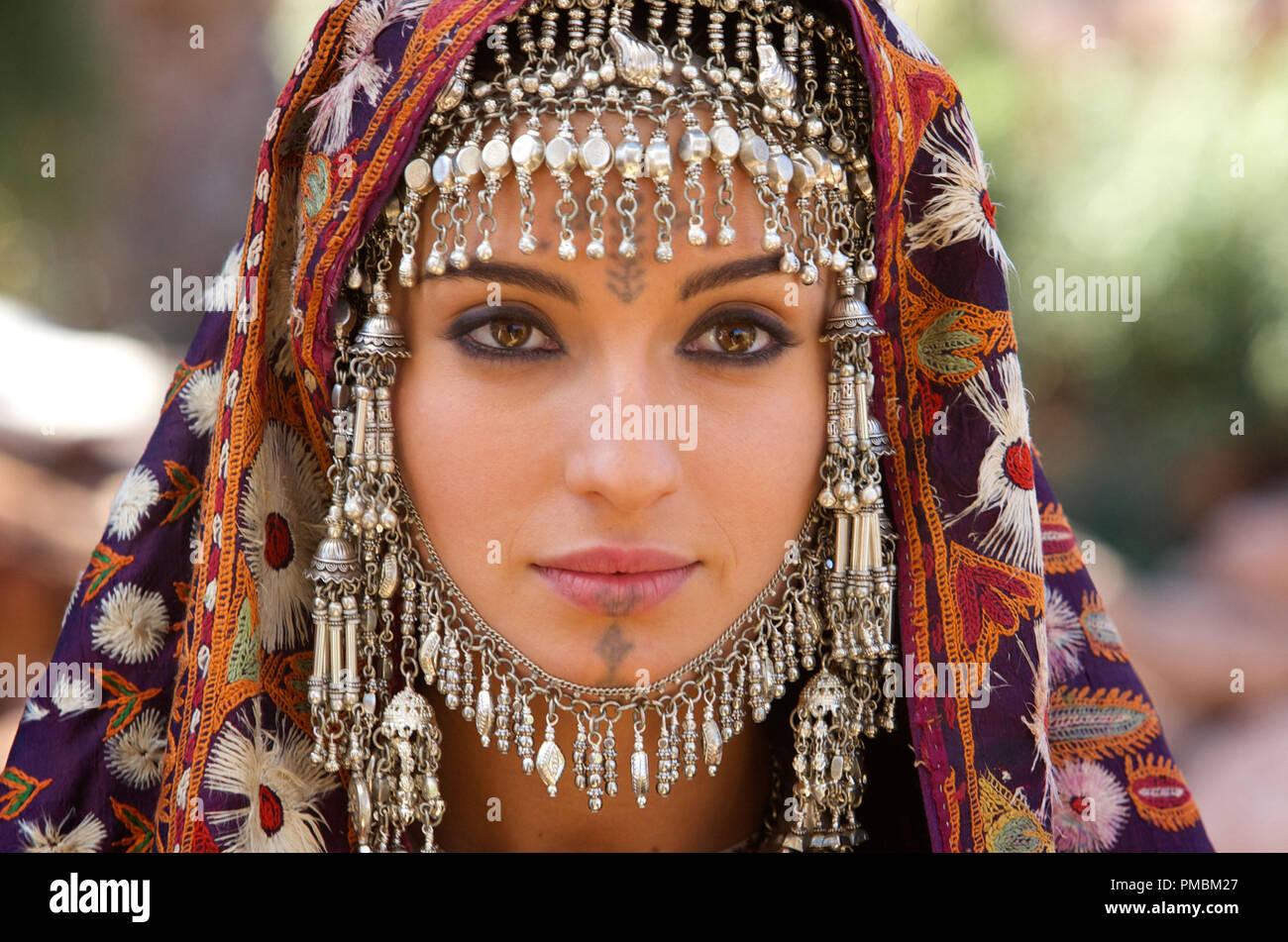 Exodus: Gods and Kings (2014) María Valverde portrays Zipporah. - Stock Image