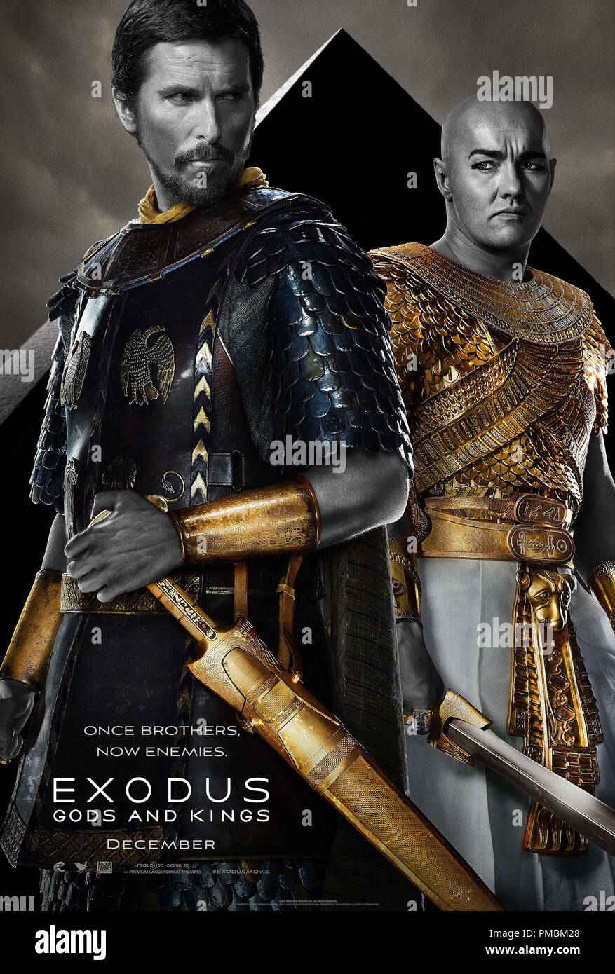 'Exodus: Gods and Kings' (2014) Poster - Stock Image