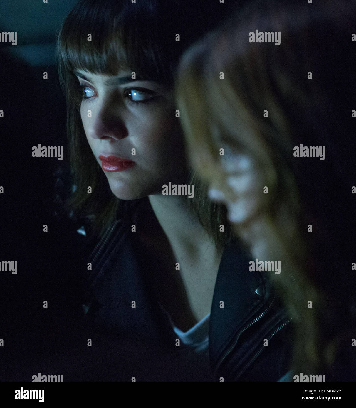 ANA COTO stars as Sarah in 'Ouija', a supernatural thriller about a group of friends who must confront their most terrifying fears when they awaken the dark powers of an ancient spirit board. - Stock Image