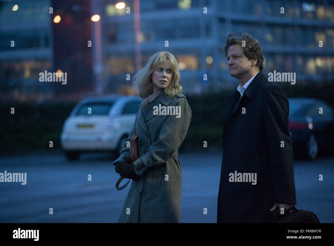 Christine (NICOLE KIDMAN), an amnesiac, tentatively follows her husband Ben (COLIN FIRTH), to what should be a familiar destination on their anniversary in BEFORE I GO TO SLEEP. - Stock Image