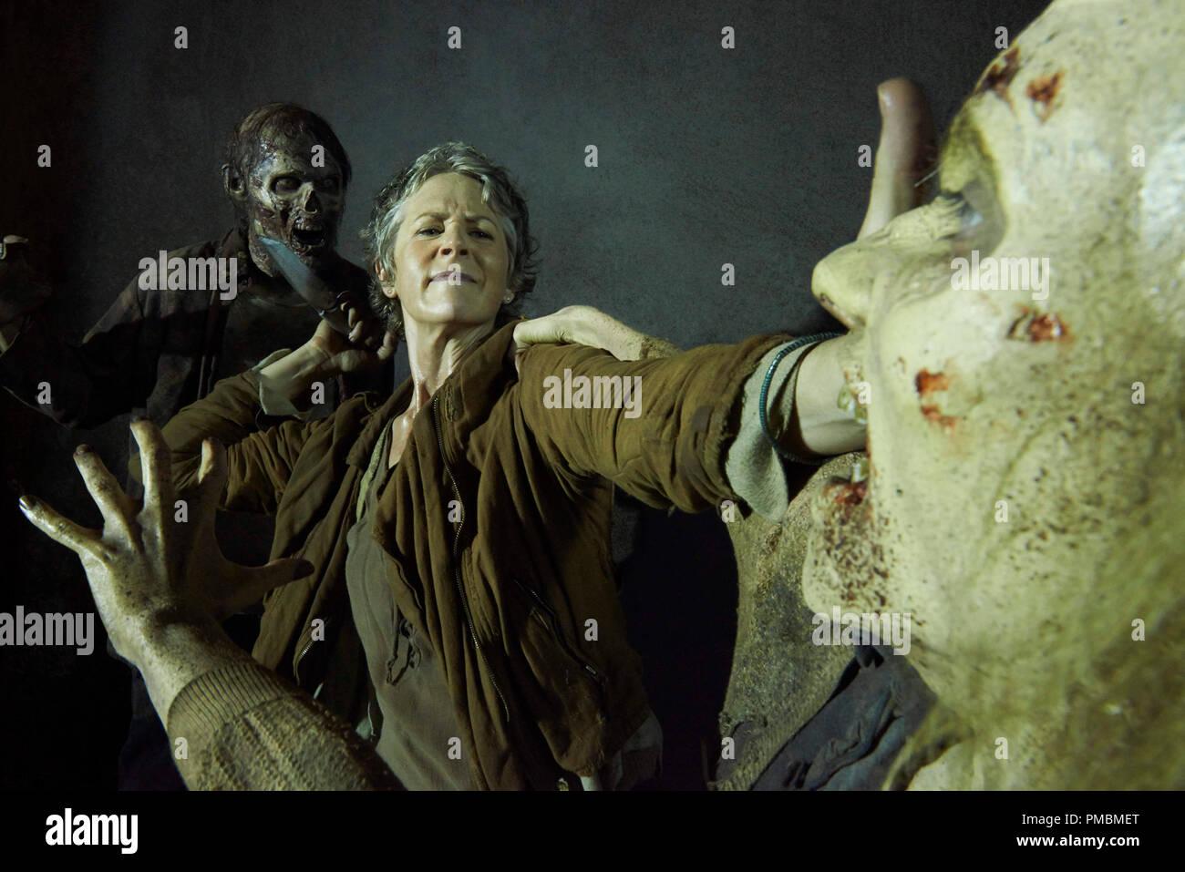 Melissa Mcbride The Walking Dead Season 5 Stock Photo