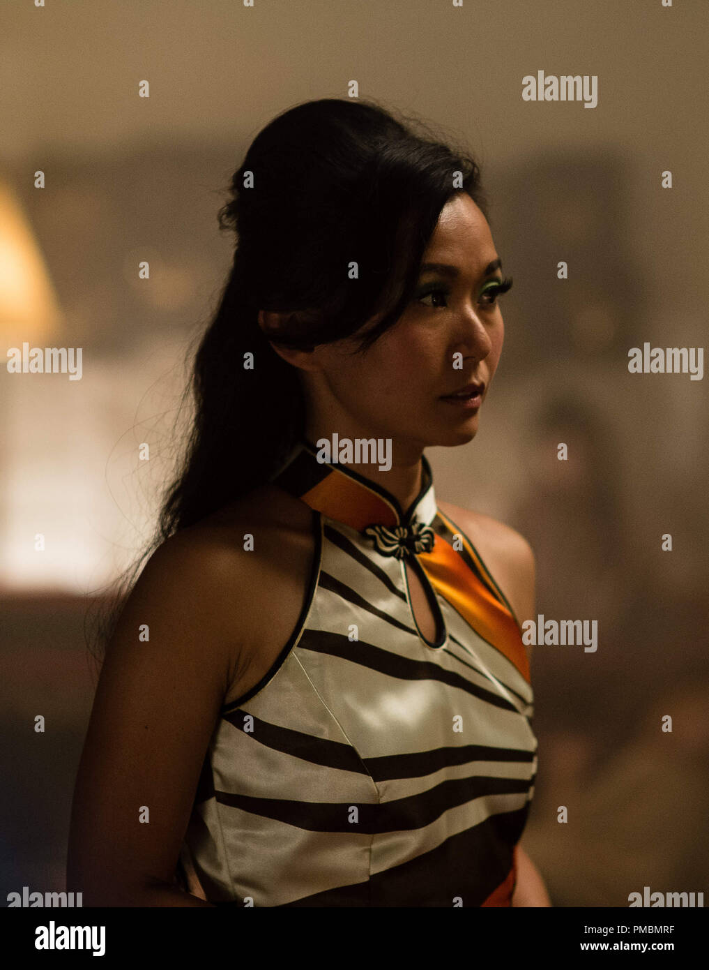 HONG CHAU as Jade in Warner Bros. Pictures' and IAC Films' 'INHERENT VICE,' a Warner Bros. Pictures release - Stock Image
