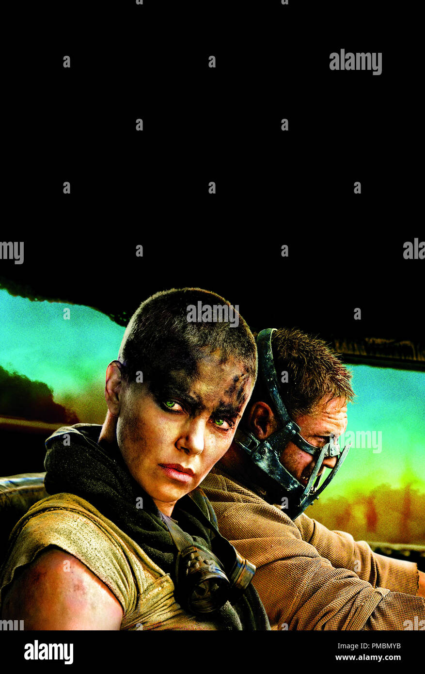 Poster Mad Max Fury Road 2015 Warner Bros Stock Photo Alamy