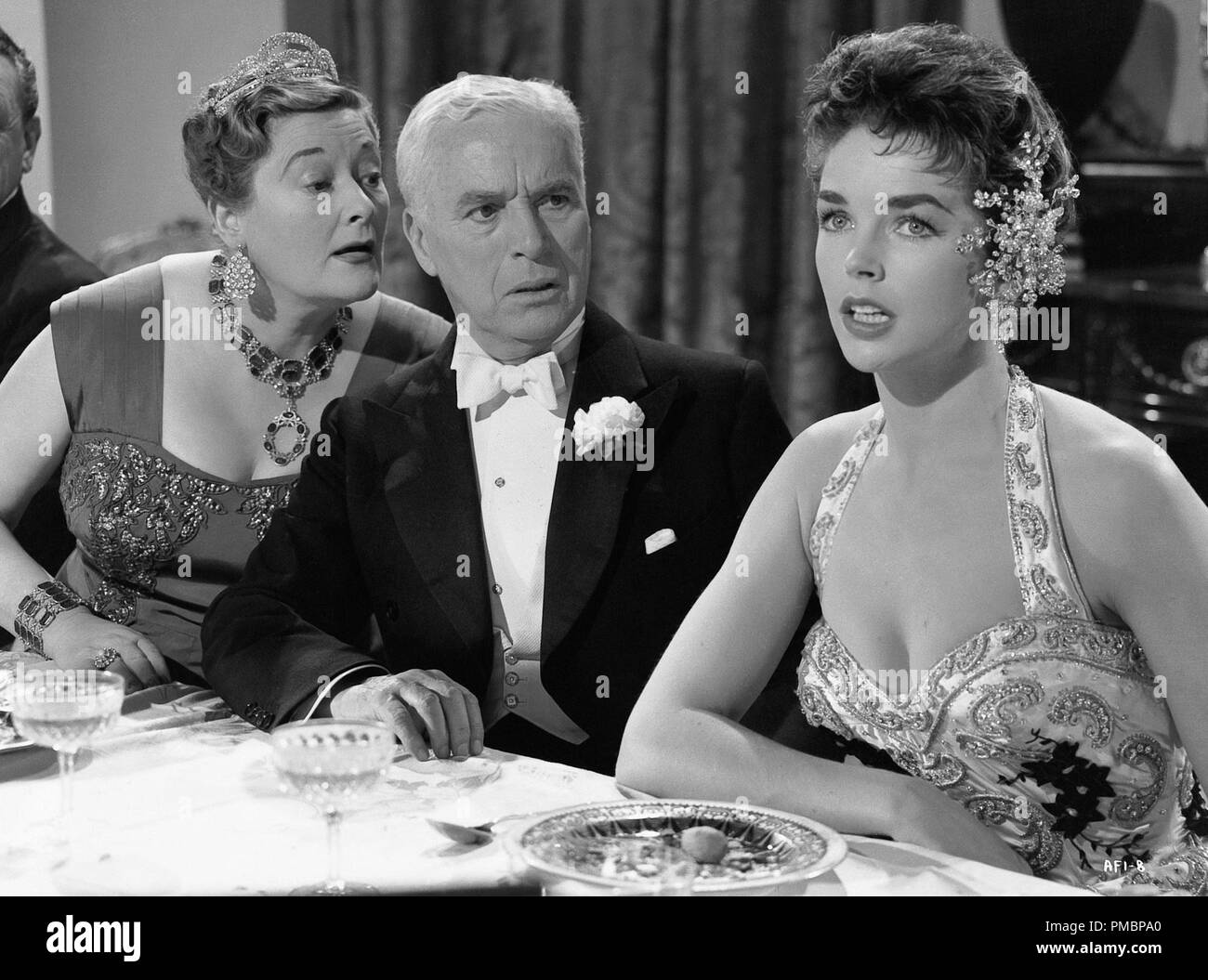 Charles Chaplin in 'A King in New York' 1957 Archway Ent. File Reference # 32603_349THA - Stock Image
