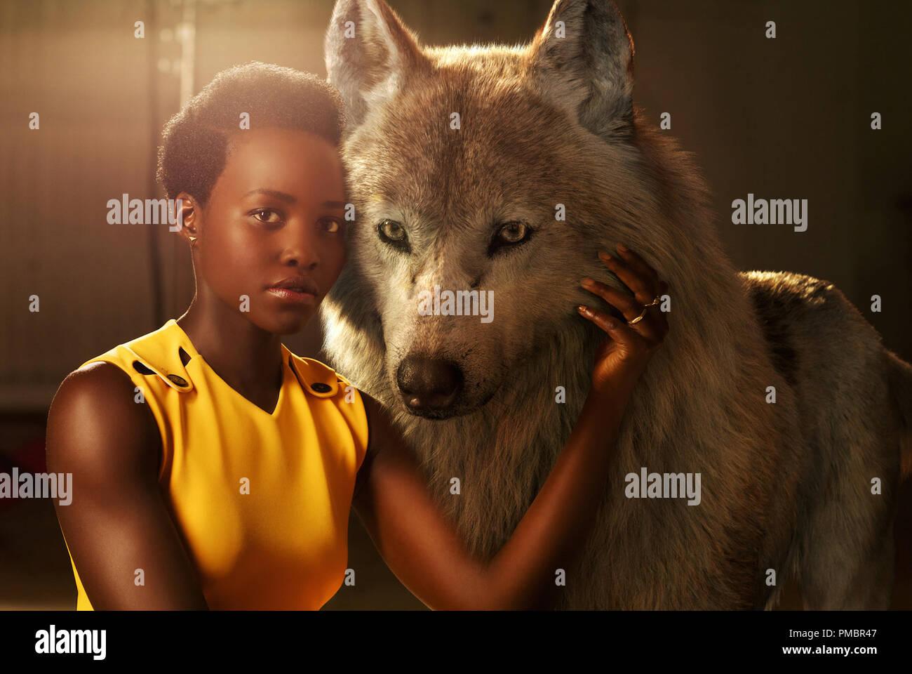 THE JUNGLE BOOK - Lupita Nyong'o voices Raksha, a mother