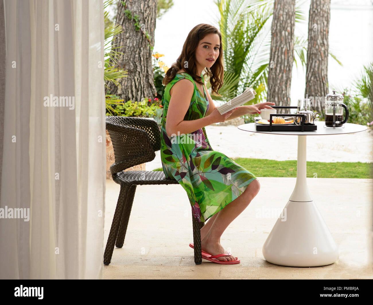 60b5a8f694a EMILIA CLARKE-Lou Clark in New Line Cinema s and Metro-Goldwyn-Mayer  Pictures  romantic drama