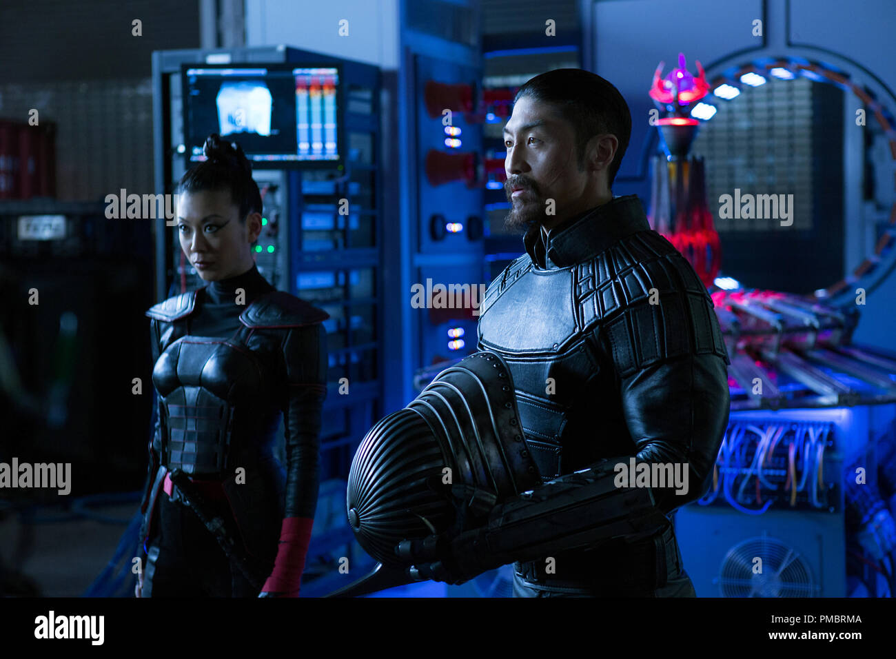 Left To Right Brittany Ishibashi As Karai And Brian Tee As