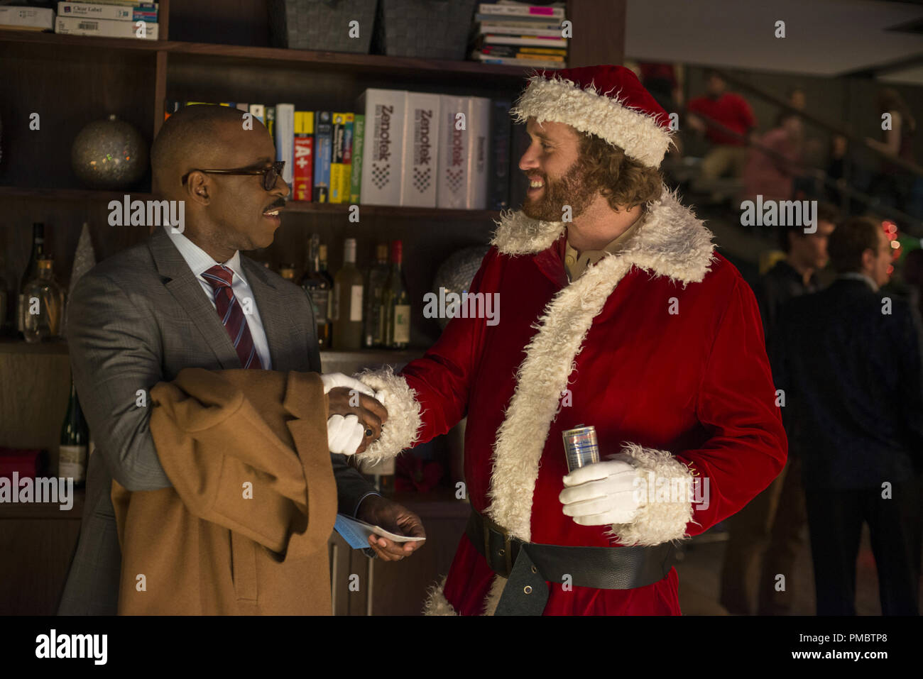 L-R: Courtney B. Vance as Walter, T.J. Miller as Clay Vanstone in ...