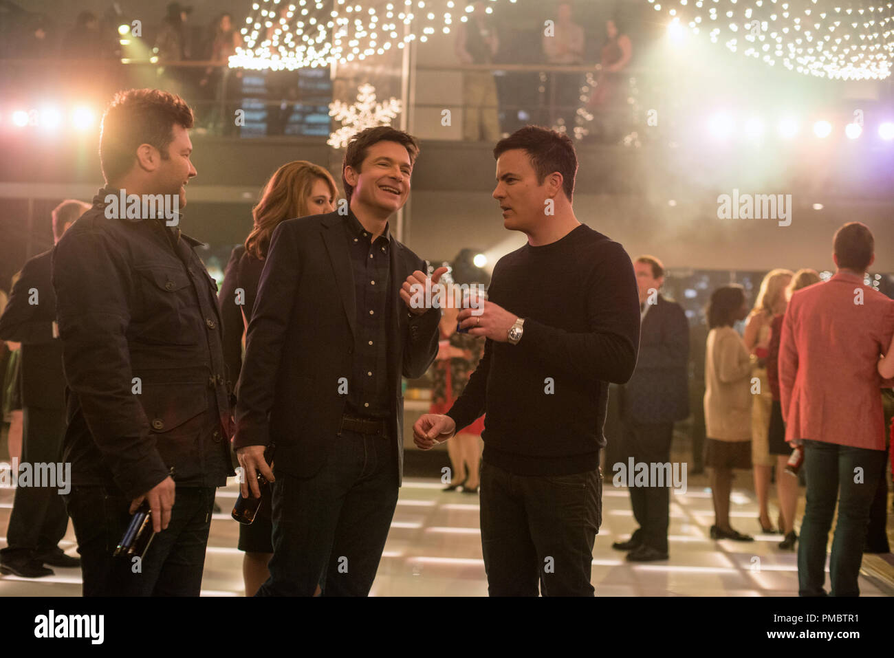 L-R) Director, Josh Gordon, Jason Bateman, and Director, Will Speck ...