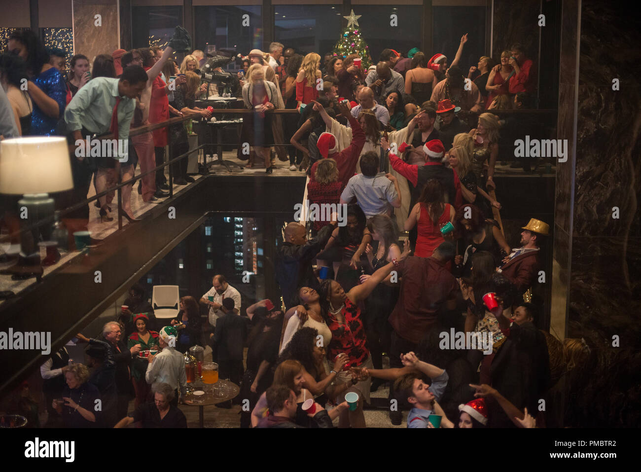Office Christmas Party Movie.Office Christmas Party 2016 Scene Still Stock Photo