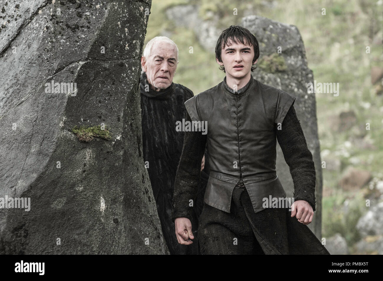 Isaac Hempstead Wright, 'Game of Thrones' (2016) Season 6 - Stock Image