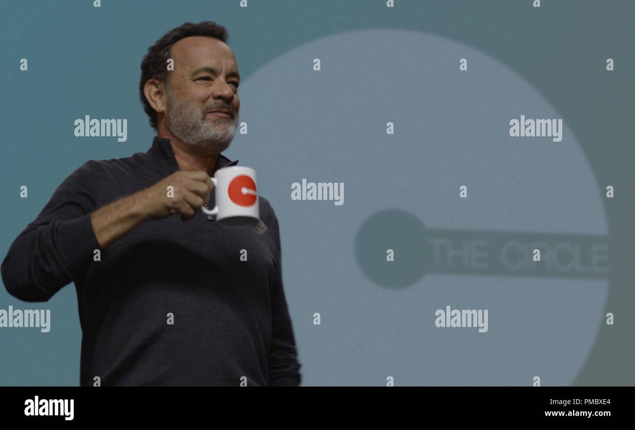 Tom Hanks stars in STX Entertainment's THE CIRCLE (2017) STX Entertainment - Stock Image