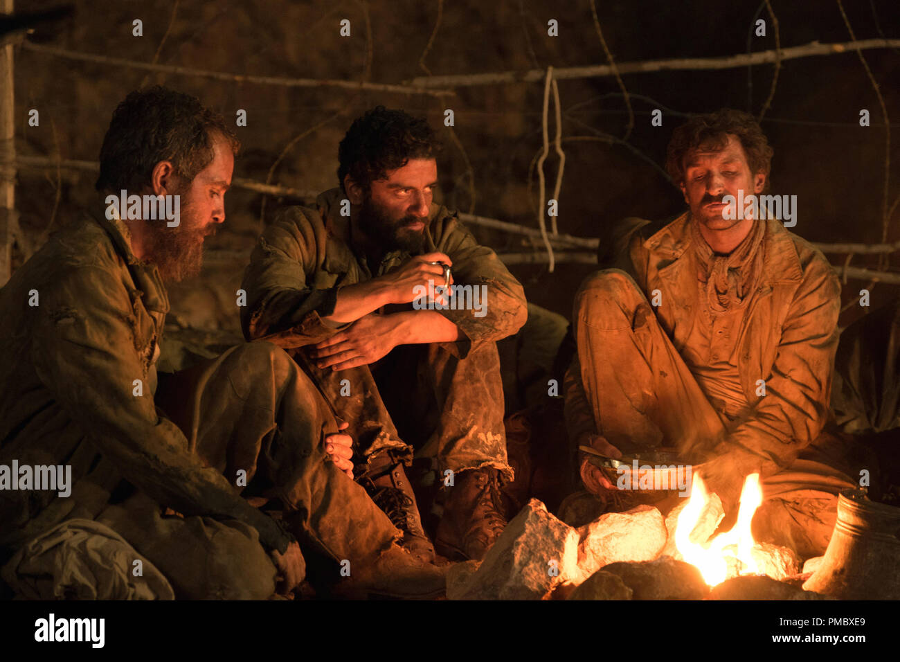 Oscar Isaac (center) in 'The Promise' (2017) Open Road Films - Stock Image