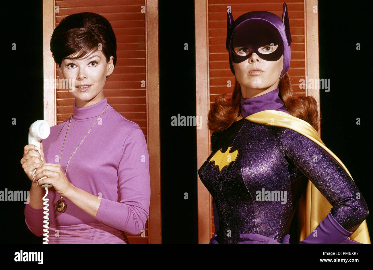 Yvonne Craig as Barbara Gordon /  Batgirl, 'Batman' (1967) ABC File Reference # 33300_071THA - Stock Image