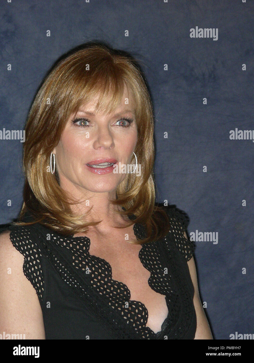 Press conference Portrait of Marg Helgenberger  05/21/2007 © JRC Photo Library/The Hollywood Archive (All Rights Reserved)  File Reference # 33480 045THA Stock Photo