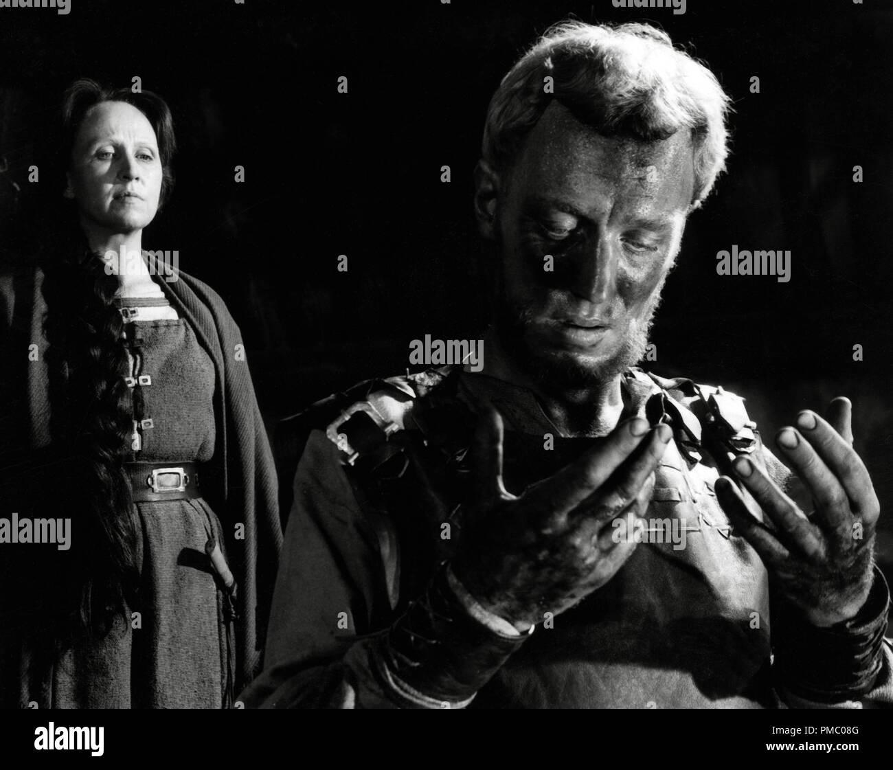 Max von Sydow, 'The Virgin Spring' aka'Jungfrukallan' Swedish, 1960 Janus Films Directed by Ingmar Bergman / File Reference # 33480_901THA - Stock Image