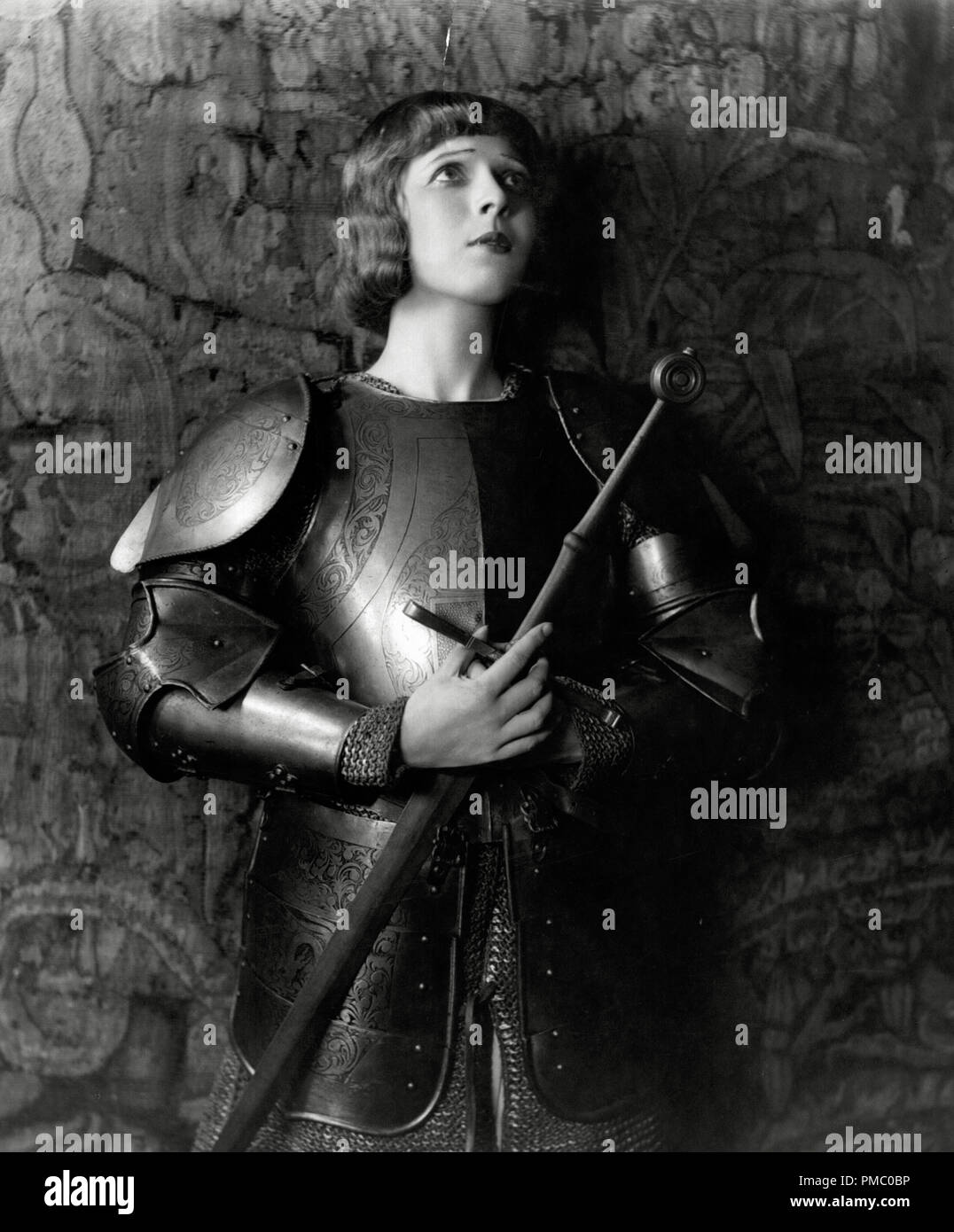 Ina Claire In Character As Joan Of Arc For The Open Air Production Filmed Of The National Red Cross Pageant 1917 An All Star Revue Silent Film Now Considered A Lost Film Directed By