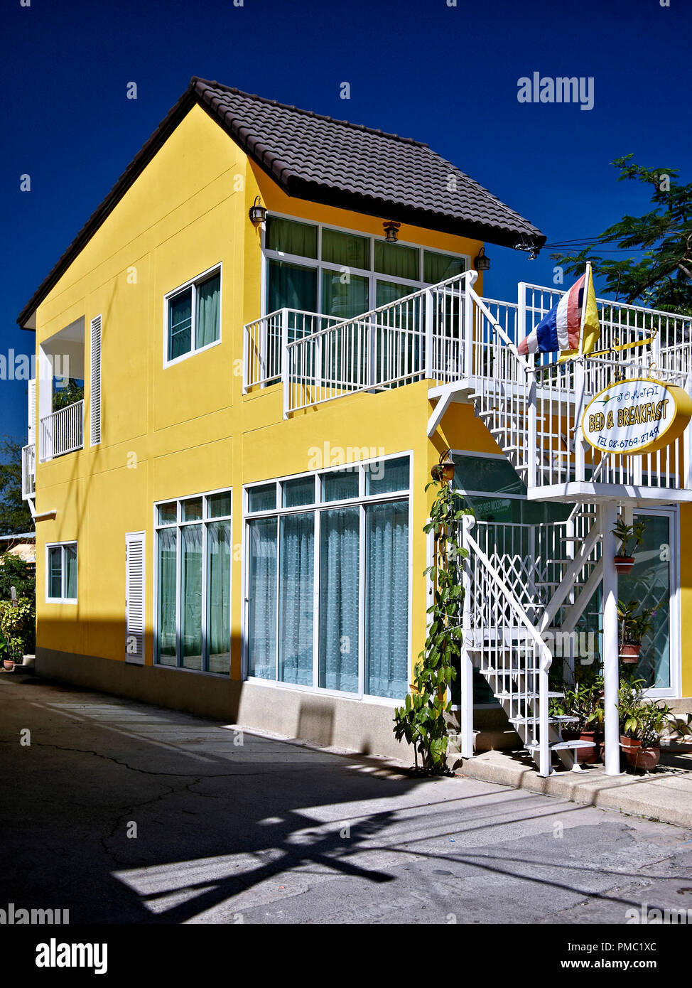 Bed and Breakfast guest house accommodation. B & B guesthouse Thailand Asian  Southeast Asia