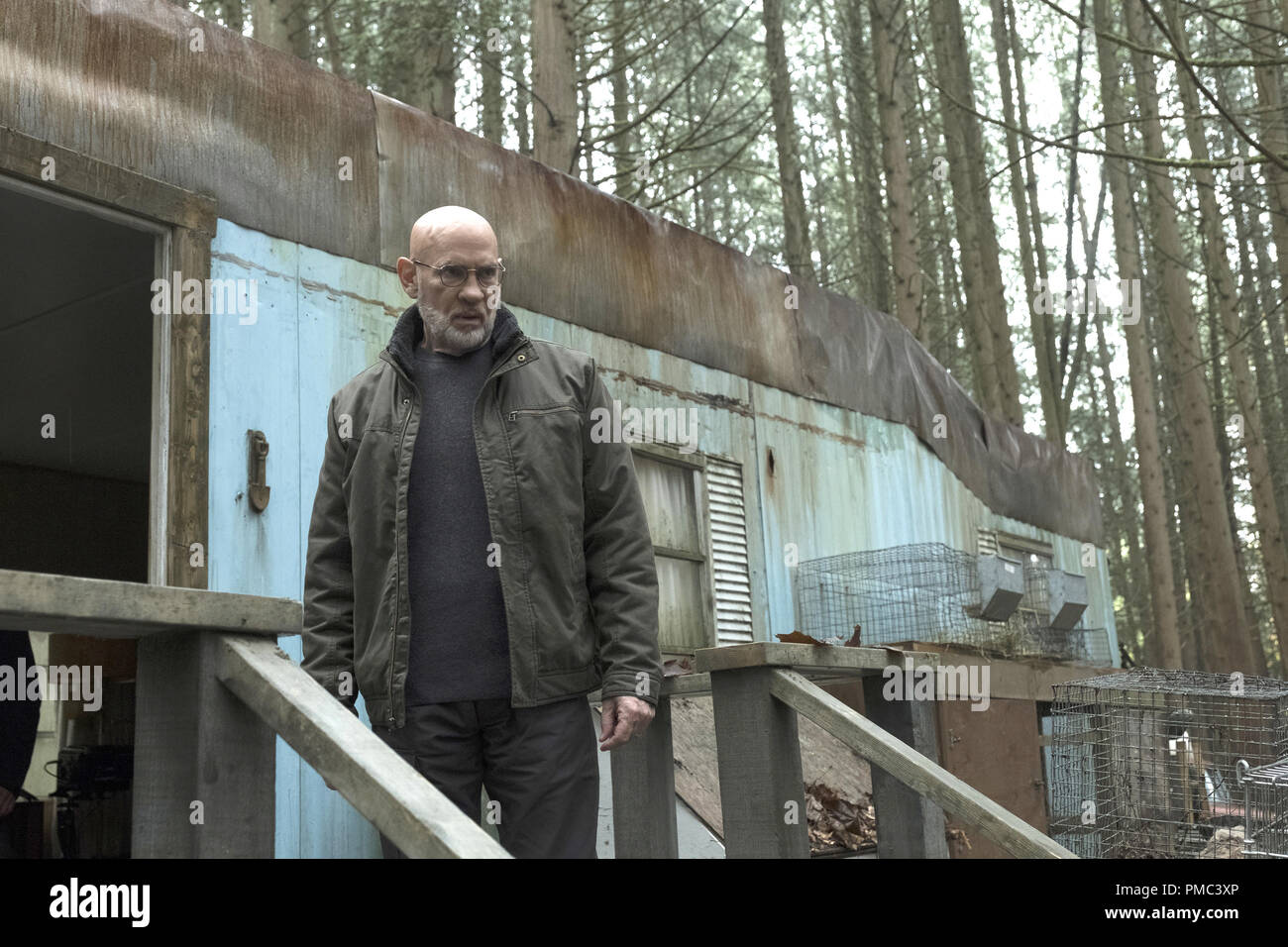 THE X-FILES:  Mitch Pileggi in the 'Kitten' episode of THE X-FILES on Fox. © 2018 Fox Broadcasting Co.  Cr:  Eric Millner/Fox - Stock Image