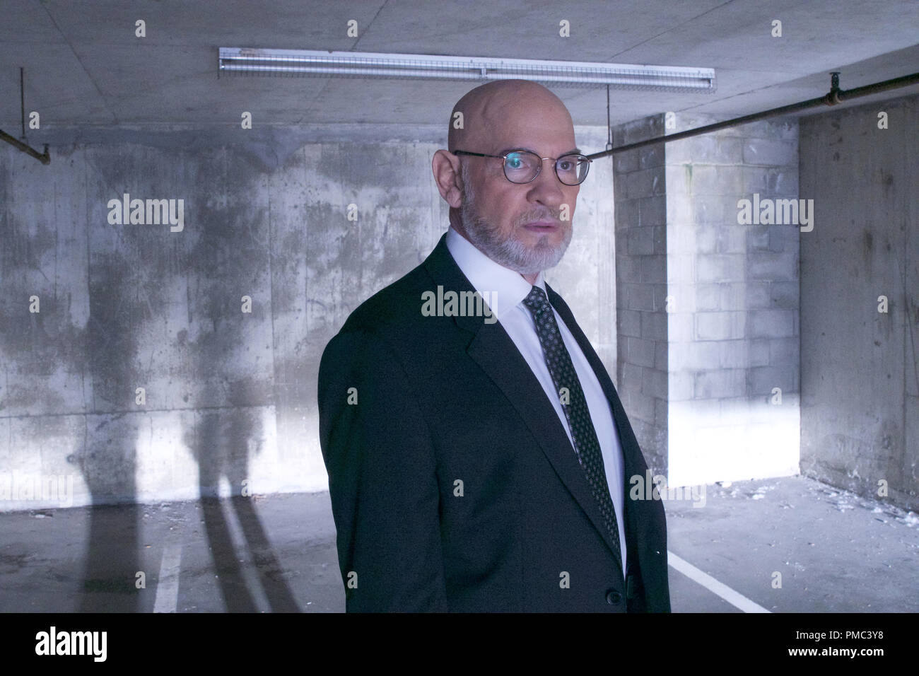 "THE X-FILES:  Mitch Pileggi in the ""This"" episode of THE X-FILES on Fox. © 2018 Fox Broadcasting Co. Cr:  Shane Harvey/Fox Stock Photo"