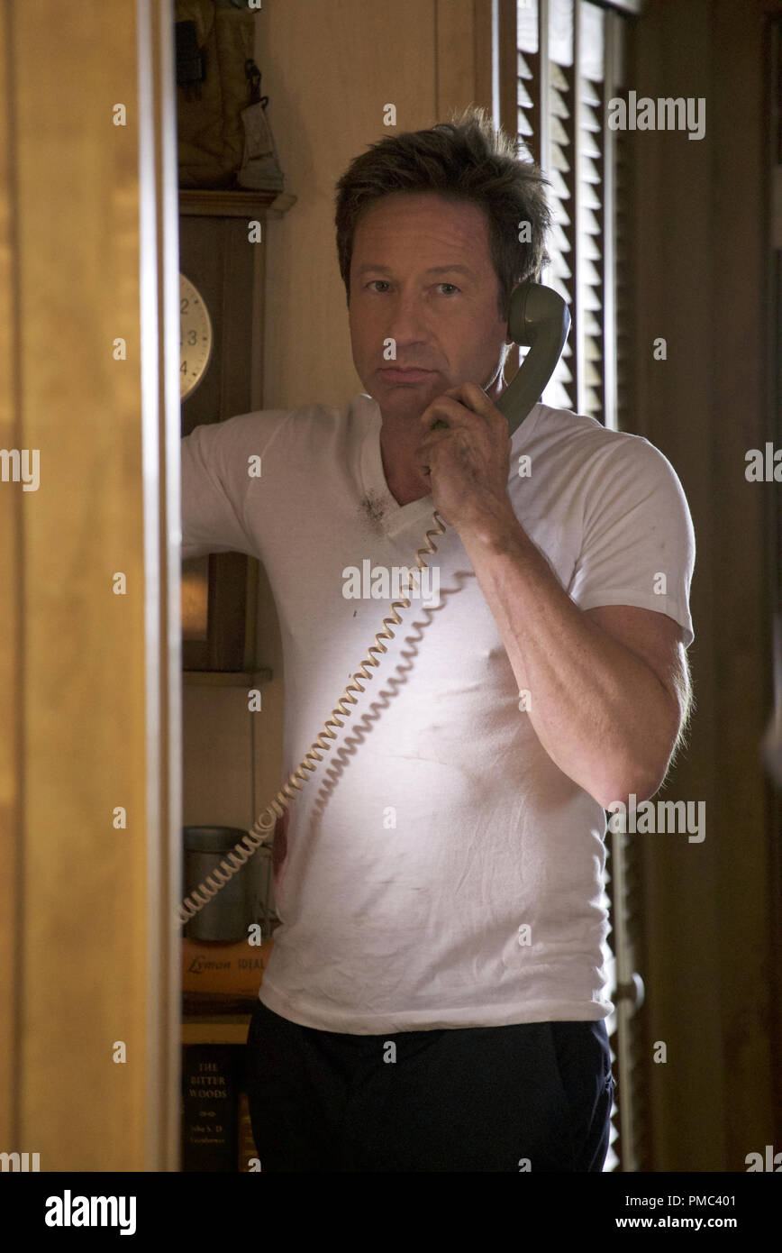 THE X-FILES:  David Duchovny in the 'Kitten' episode of THE X-FILES on Fox. © 2018 Fox Broadcasting Co.  Cr:  Shane Harvey/Fox - Stock Image