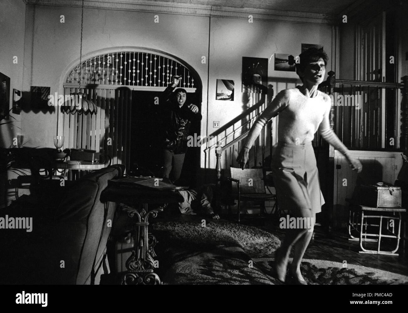Allen Arkin and Audrey Hepburn, 'Wait Until Dark' 1967 Warner Bros. File Reference # 33536_287THA - Stock Image