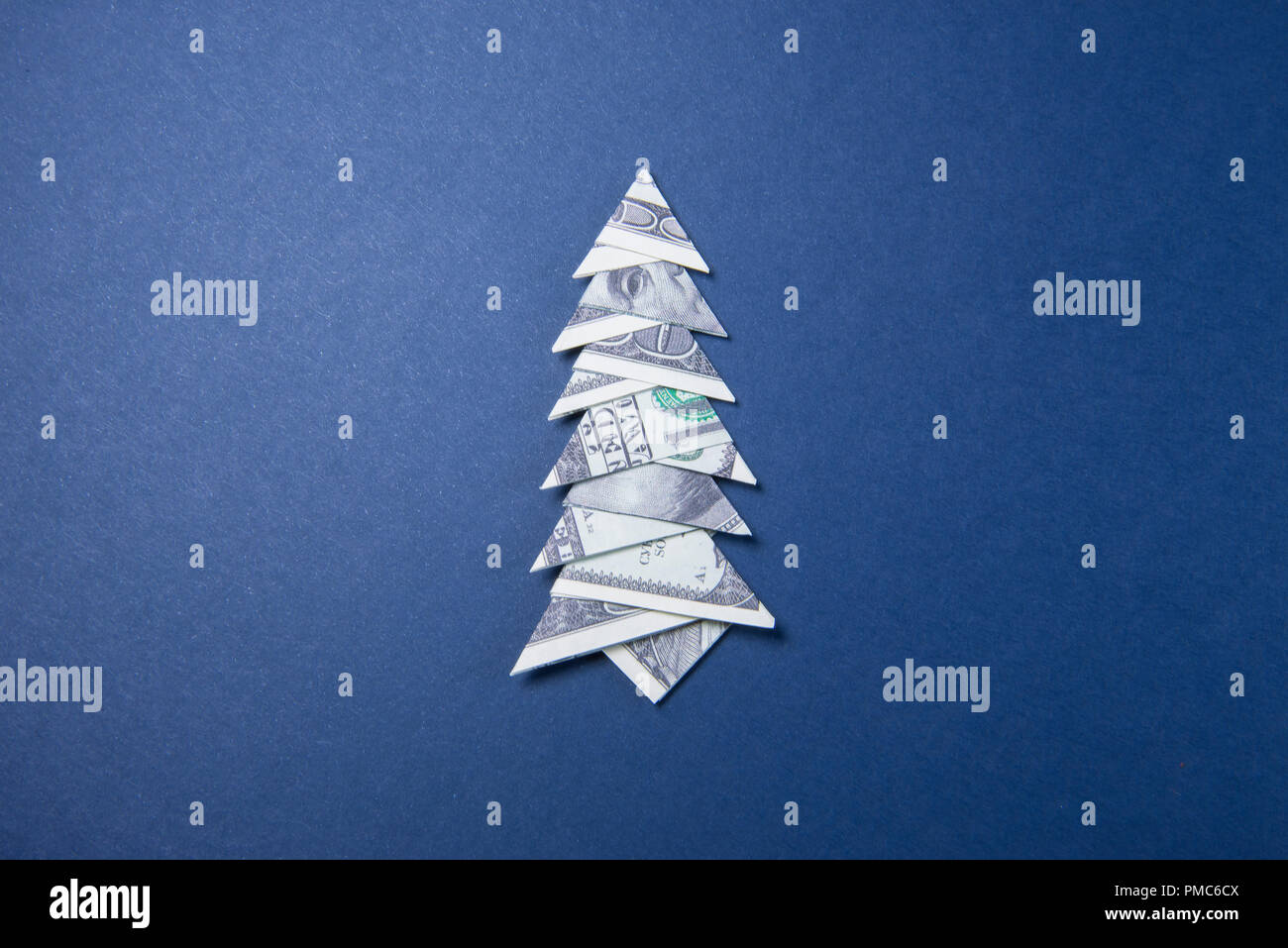 how to make an origami christmas tree with a dollar bill - Google ... | 957x1300