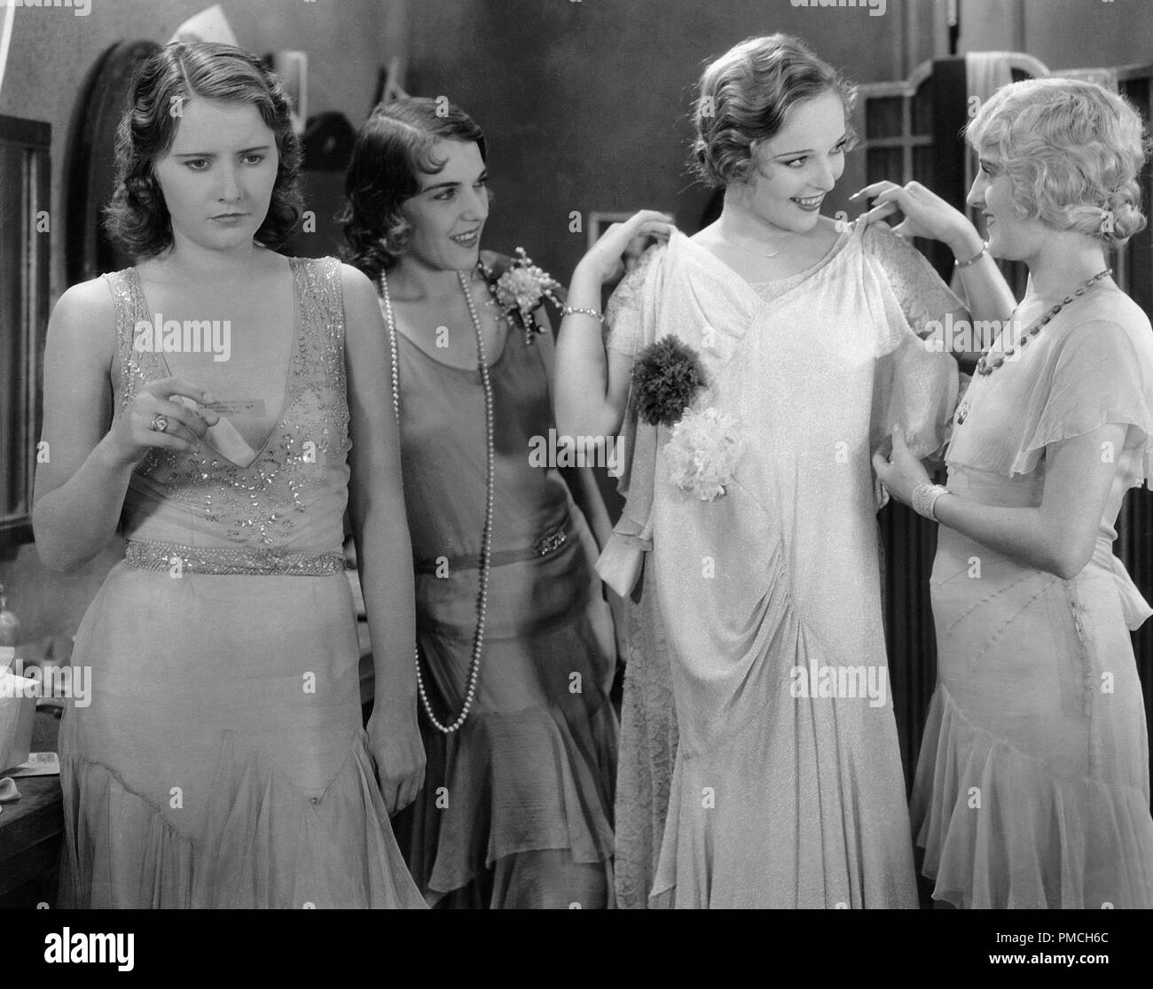 Barbara Stanwyck, Sally Blane,  'Ten Cents a Dance' (1931) Columbia Pictures   File Reference # 33635_412THA - Stock Image