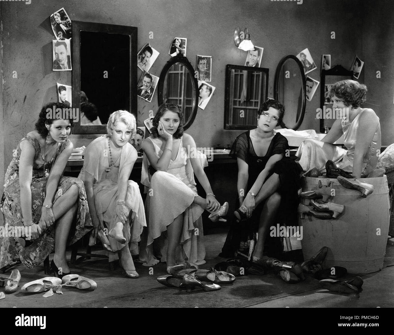 Barbara Stanwyck, Sally Blane,  'Ten Cents a Dance' (1931) Columbia Pictures   File Reference # 33635_413THA - Stock Image