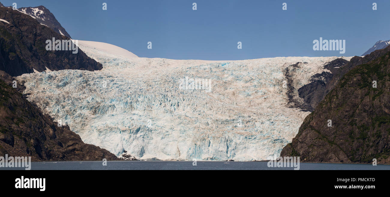 Holgate Glacier, Kenai Fjords National Park, Alaska. - Stock Image