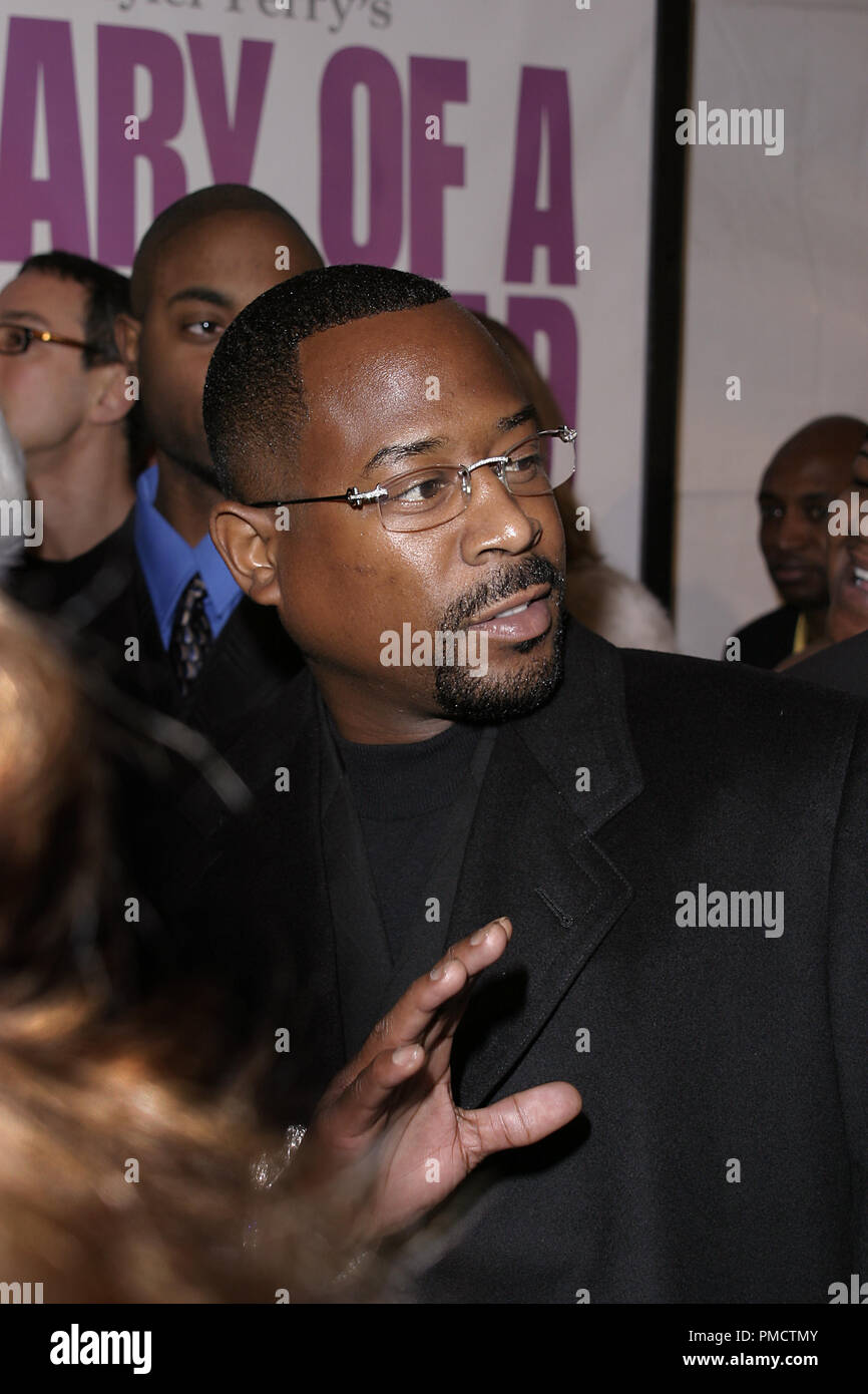 'Diary of a Mad Black Woman' (Premiere) Martin Lawrence 2-21-2005 Photo by Joseph Martinez / PictureLux   File Reference # 22248_0071PLX  For Editorial Use Only -  All Rights Reserved - Stock Image
