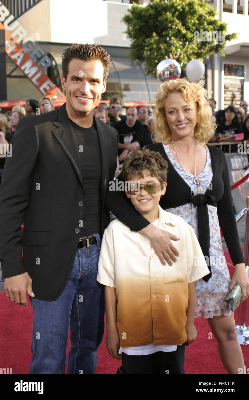 'War of the Worlds' (Premiere) Antonio Sabato Jr., Jack Sabato, Virginia Madsen 06-27-2005 / Grauman's Chinese Theatre / Hollywood, CA Photo by Joseph Martinez - All Rights Reserved  File Reference # 22410_0014PLX  For Editorial Use Only - - Stock Image
