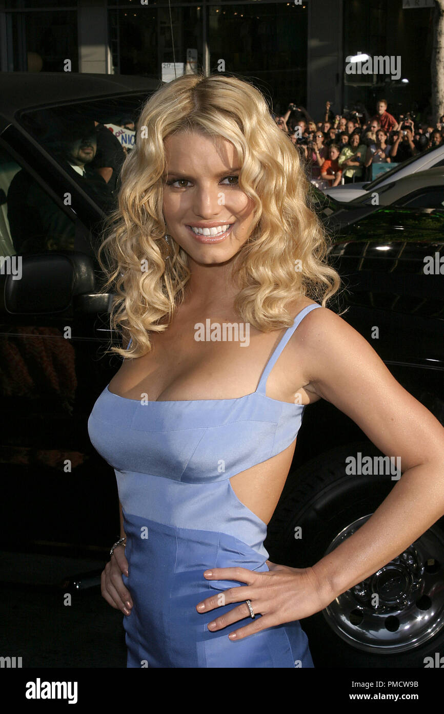 'The Dukes of Hazzard' (Premiere) Jessica Simpson 07-29-2005 / Grauman's Chinese Theatre / Hollywood, CA Photo by Joseph Martinez / PictureLux   File Reference # 22452_0089PLX  For Editorial Use Only -  All Rights Reserved - Stock Image